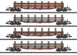 Spur N Güterwagen-Set Stahltransport  HMHI2020  [UVP 199.00]