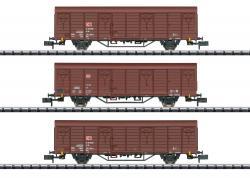 Spur N Güterwagen-Set Gbs 258 DB AG  p.VNH202001[UVP 000.00]