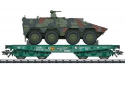 H0 Schwerlastwagen m. Boxer BW    ###   NH2021  [UVP 69,99