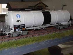 """Kesselwagen Zans, """"KVG"""" 783 6 074-4 DB"""