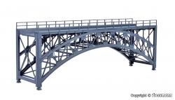 H0 Stahlbogenbrücke Schlossbach 260x65x95mm [UVP  41.95]....