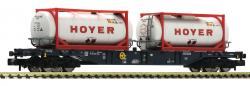 Spur N Containertragwagen+Hoyer Ep Vi   NH2020  [UVP 040.90]