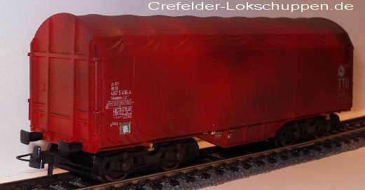 roco 67725 schiebeplanwagen 467 5 416 0 db ag gealtert neu ovp dhl versand vers ebay. Black Bedroom Furniture Sets. Home Design Ideas